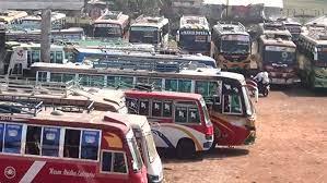 <span style='color:#000;font-size:18px;'>দুর্ভোগে সুনামগঞ্জ, ছাতক, দিরাই, মৌলভীবাজার কুলাউড়া ও ফেঞ্চুগঞ্জের যাত্রী</span><br/> ২২ দিন পর জেলার মধ্যে বাসচলাচল শুরু