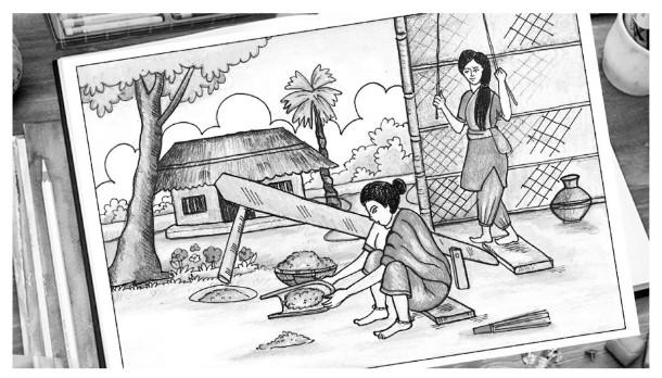 বাংলার লোকজ ঐতিহ্য ও সংস্কৃতি