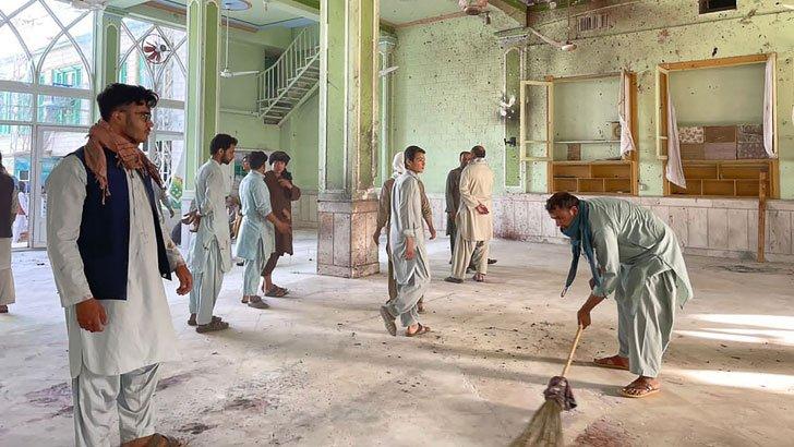 আফগানিস্তানে আবারও মসজিদে বোমা হামলা : নিহত ৪১